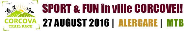 Corcova Trail Race 2016 | SPORT & FUN în viile CORCOVEI!